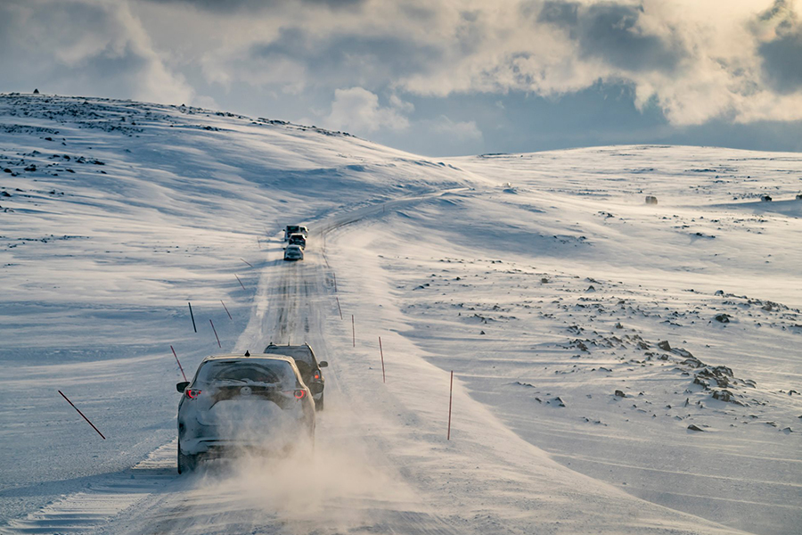 Roadtrippen in Lapland met de Mazda CX-5