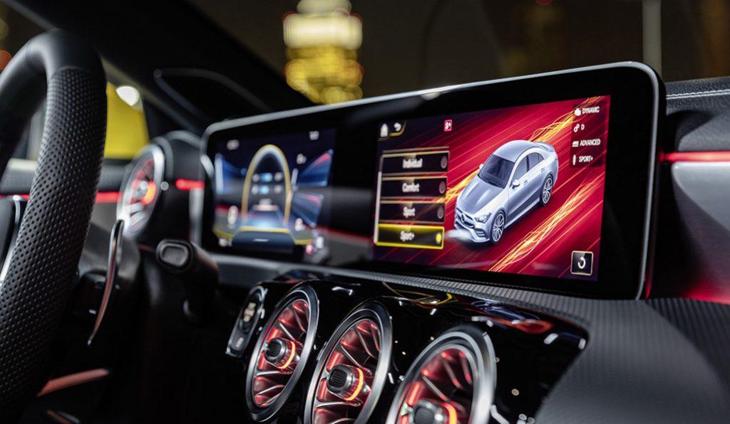 Mercedes-AMG CLA 35 4MATIC: design, kracht en intelligentie