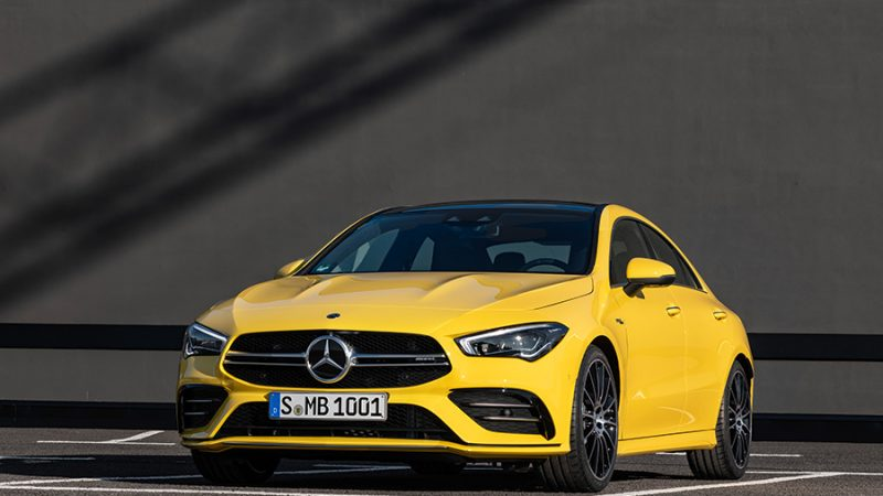 Mercedes-AMG CLA 35 4MATIC: design, kracht en intelligentie