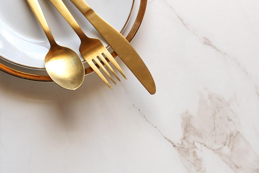 4 x tips om wat design toe te voegen aan je servies