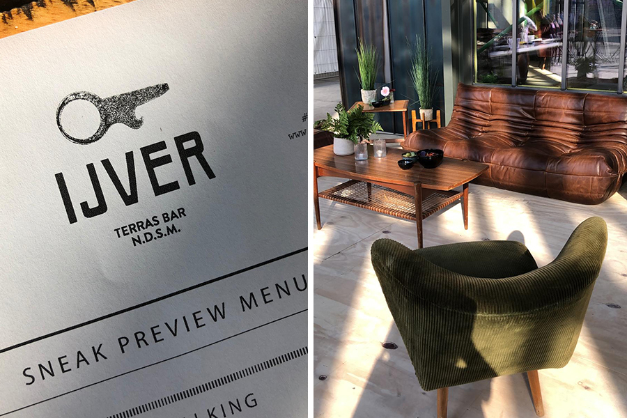 Sneak preview restaurant IJver: de NDSM Hotspot to be!