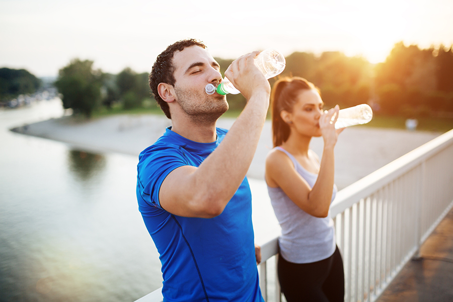 Sporten in warm weer - waar moet je op letten?