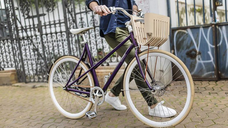 RE:CYCLE, een coole stadsfiets van koffiecups