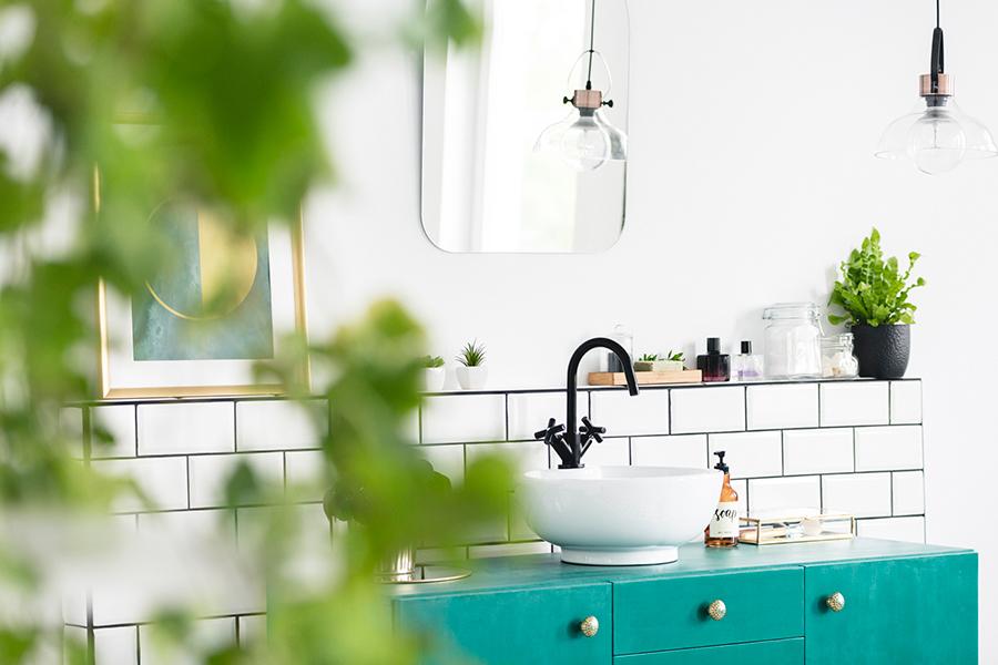 4 x inspiratie voor een DIY badkamer make-over