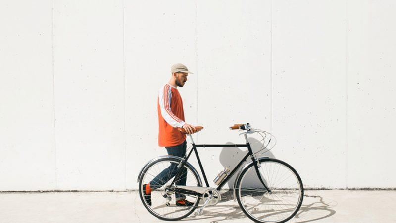Vintage Capri e-bike zonder ontsierende motor of batterij