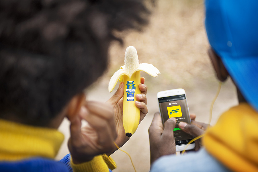 Feel good nieuws: Chiquita start samenwerking met Spotify
