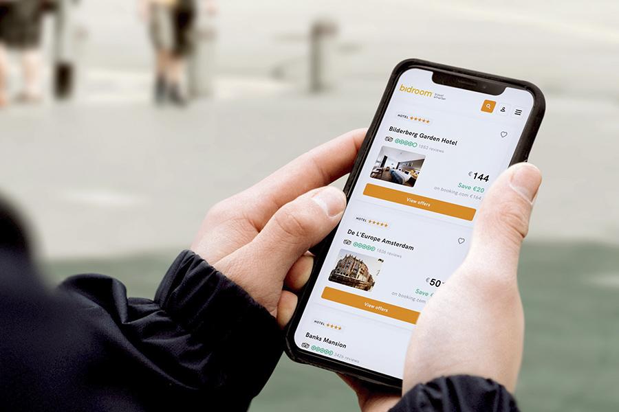 Bidroom: een besloten boekingsplatform voor de reislustige consument