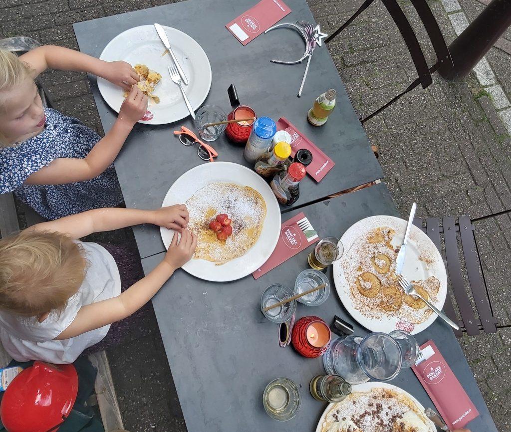 Pannenkoeken eten in het oudste pannenkoekenhuis van Amsterdam