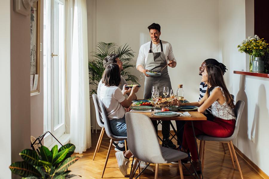 Het restaurantgevoel in eigen huis met 'hotel chic' servies
