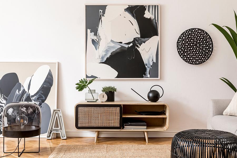 Tips: zo haal je betaalbare kunst in huis
