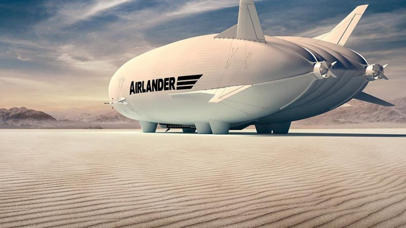 In de lucht met de Airlander 10: een post-corona bucketlist must voor de reisliefhebbers