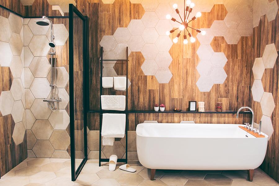Stylingtips om een Pinterest-proof badkamer te creëren