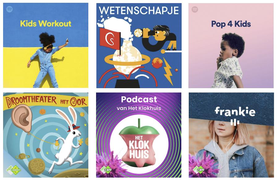 Podcasts & Playlists om kinderen mee te entertainen