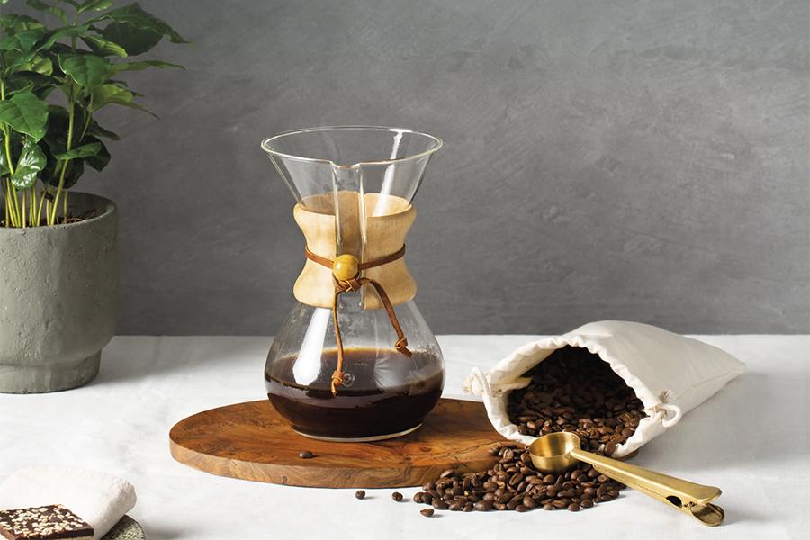 Duurzaam koffie shoppen met de Simon Lévelt koffiezak