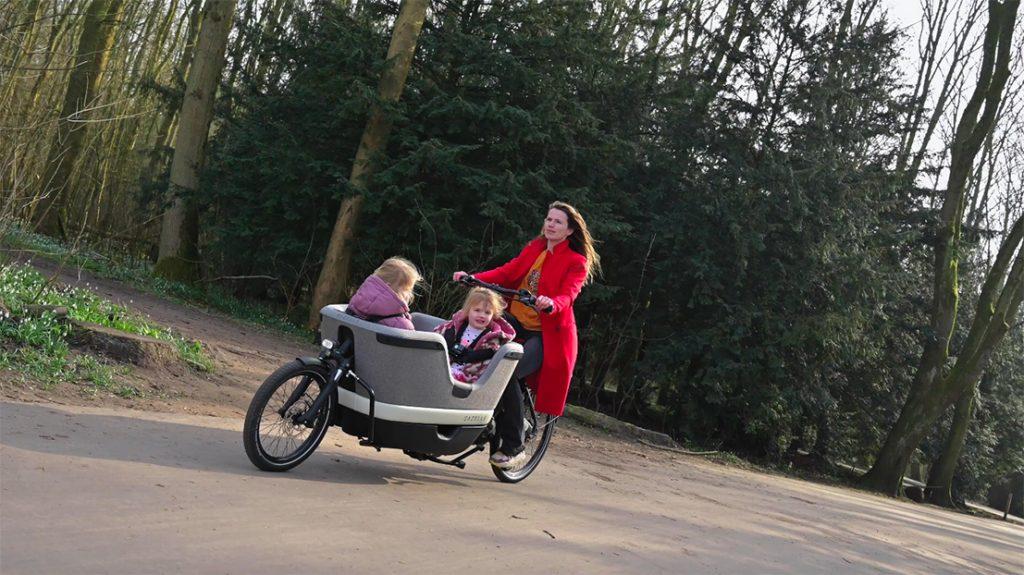 Fietsen met de Gazelle Makki bakfiets & Fietsroute #2 van Amsterdam naar de Geitenboerderij