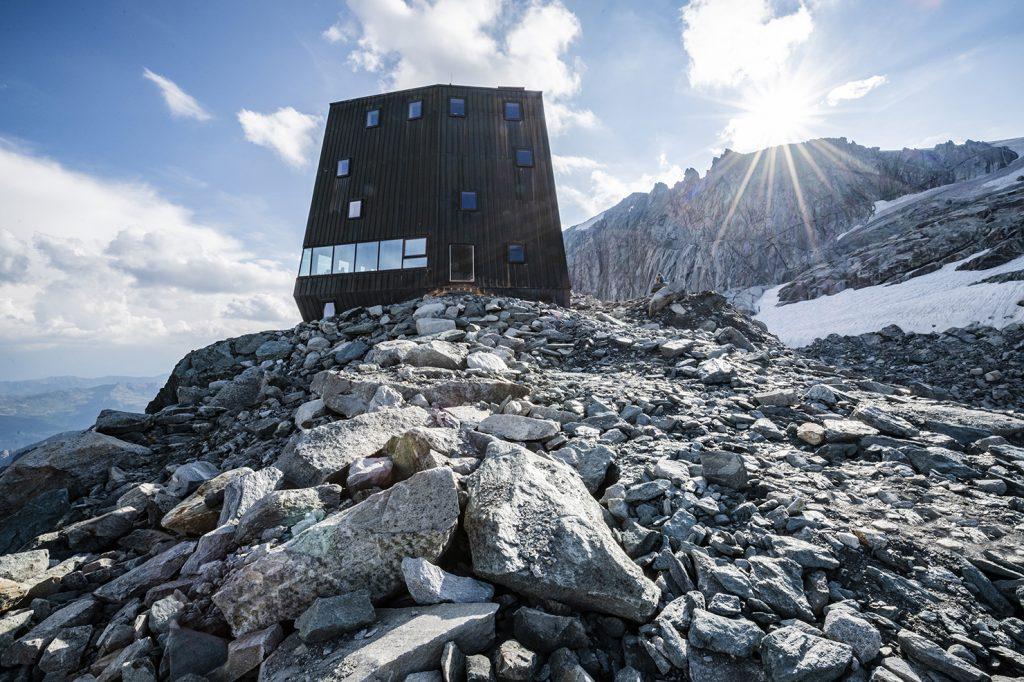 Wegdromen bij een bijzonder staaltje architectuur in Zuid-Tirol