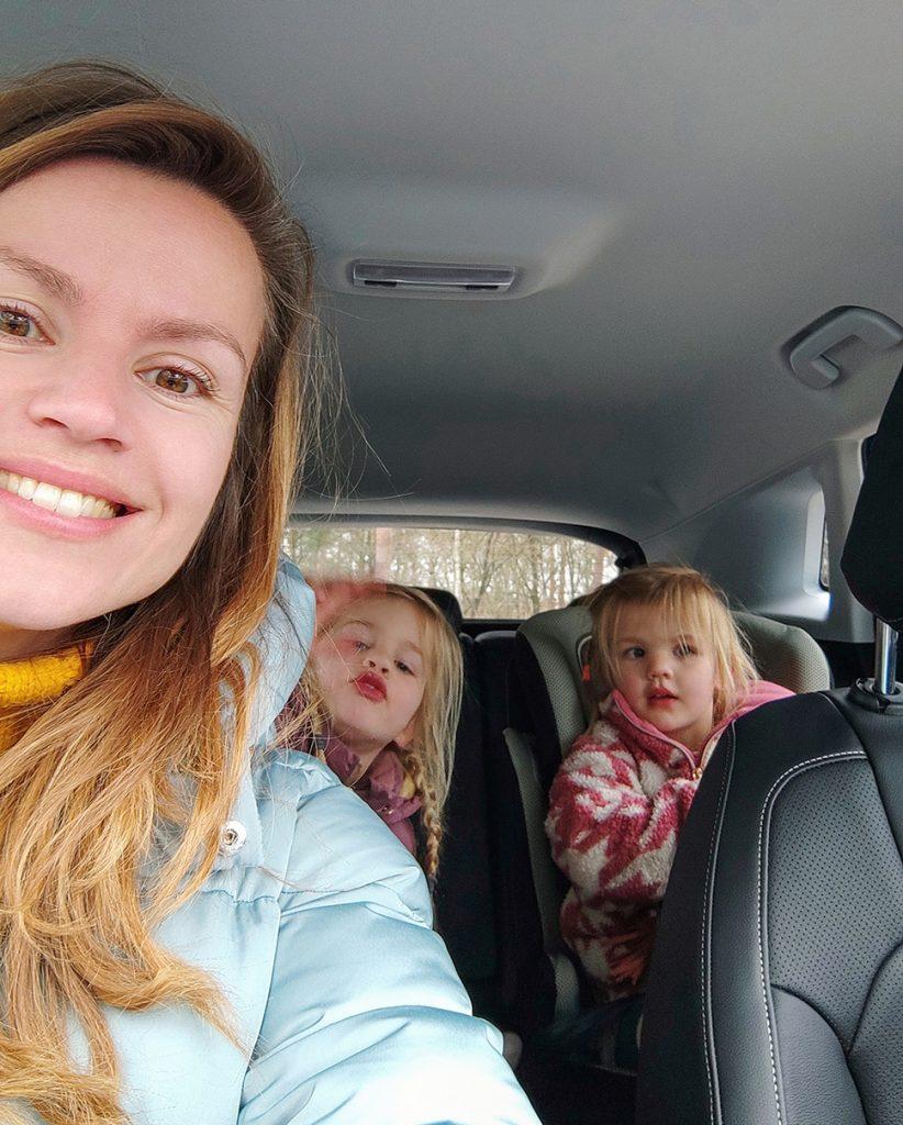Met de kids op weg in de Opel Grandland