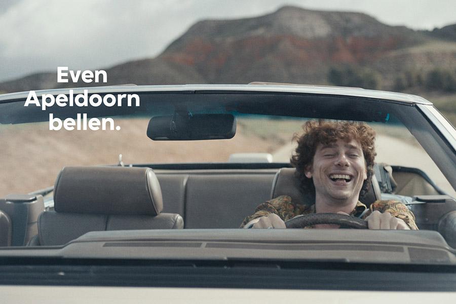 Er is weer een nieuwe 'Even Apeldoorn bellen', de meest iconische reclameleus van Nederland