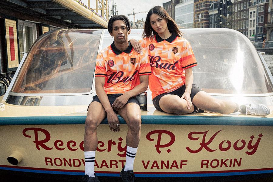 Ruud Gullit X Bud X Tom de Regt = musthave voetbalshirt