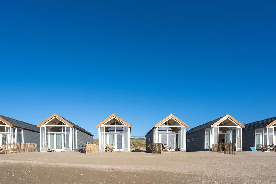 3 x de meest bijzondere strandhuisjes in Nederland