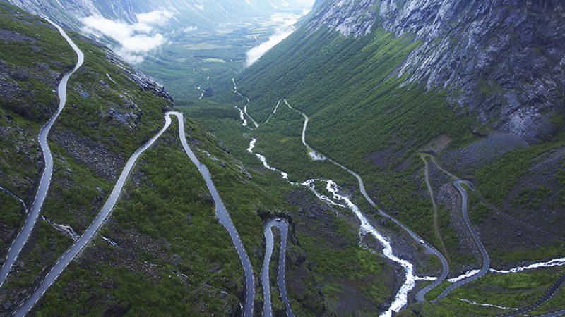 5x de mooiste motor routes door Europa