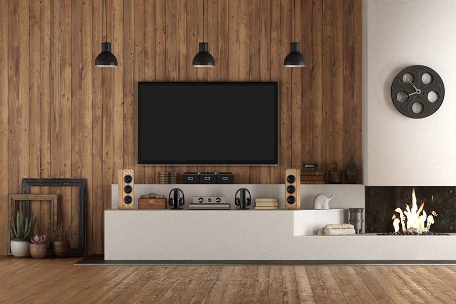 Zo transformeer je een simpele tv-hoek tot de gezelligste plek van het huis