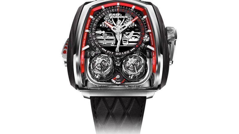 De limited-edition 'Fast & Furious' Twin Turbo: een horloge voor de ultieme autofan
