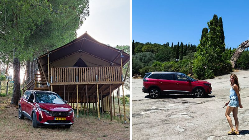 Una bella (gezins) roadtrip door Toscane en Umbrië met de Peugeot 5008