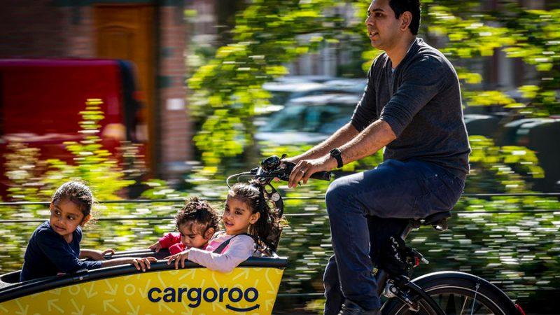 Gespot: de elektrische deelbakfiets Cargoroo